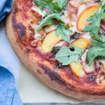 Peach and Prosciutto Pizza Recipe