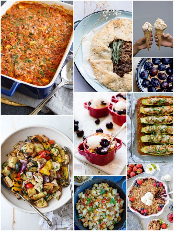 August is a great time to eat fresh and seasonal recipes!