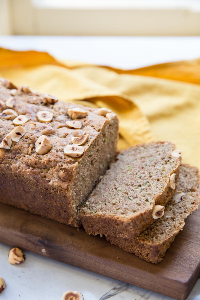Here's a perfectly flavorful and healthy zucchini bread recipe that everyone loves!