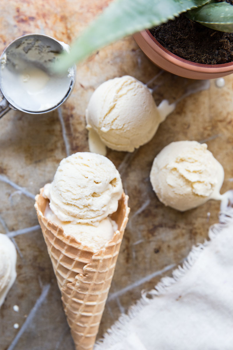 Nothing quite compares to homemade vanilla ice cream!