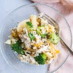 Broccoli and Chicken Quinoa Casserole