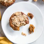 I can never have just one of these Pumpkin Hazelnut Muffins! They are gluten free, vegan and refined sugar free making them the best healthy breakfast ever!