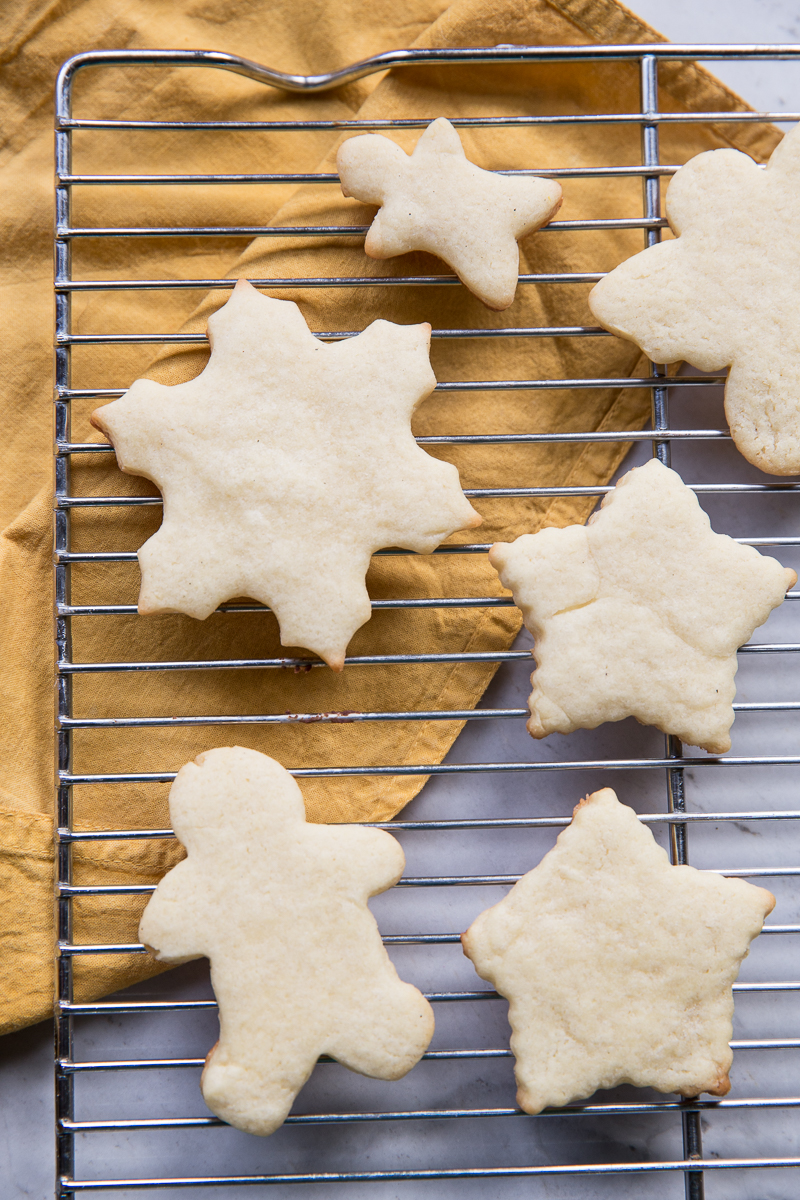 Here's a great recipe for Christmas Cookies using cookie cutters!