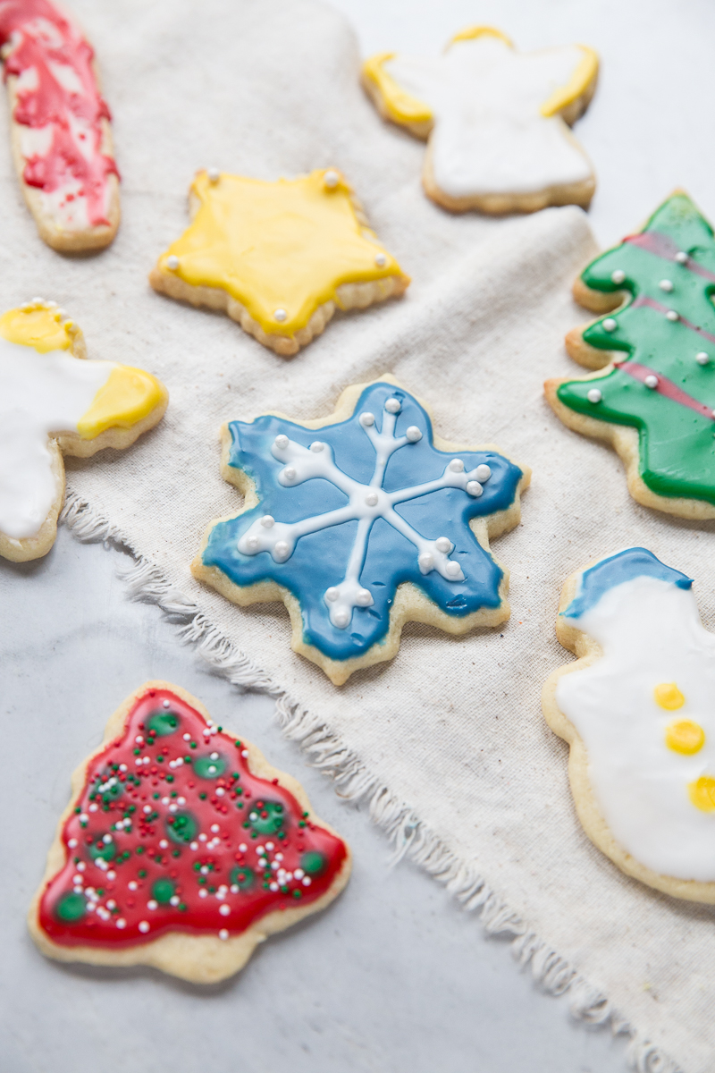 Love this recipe for Christmas Cut Out Sugar Cookies!!