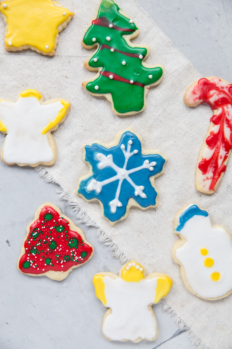 Christmas Cut-Out Sugar Cookie Recipe | Vintage Mixer