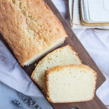 This Classic Pound Cake recipe has been passed down from generations and is the best out there!