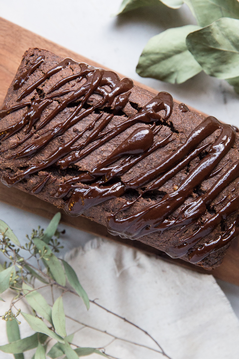 Heres a super decadent yet healthy recipe for Gluten Free Chocolate Banana Bread!