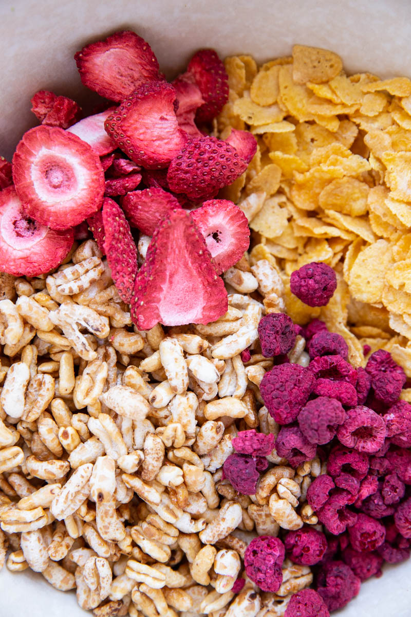 This quick and easy homemade cereal recipe makes a big batch and saves a lot of money!