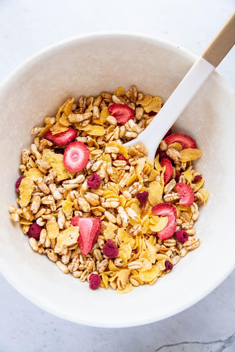 homemade cereal recipe vintage mixer