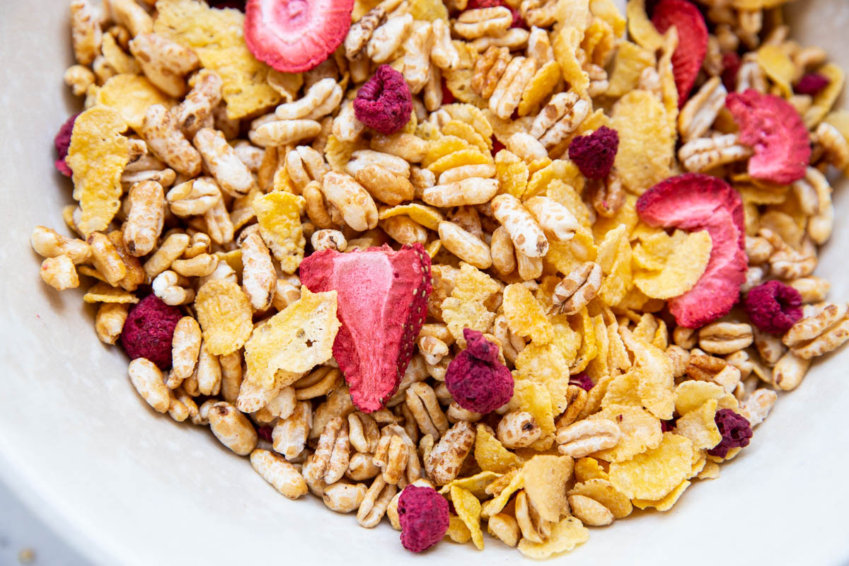 Try making your own cereal mix at home with just a few simple steps.