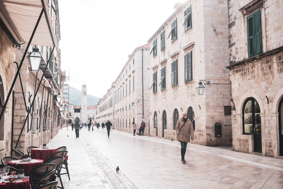 Winter is a great time to visit Dubrovnik Croatia