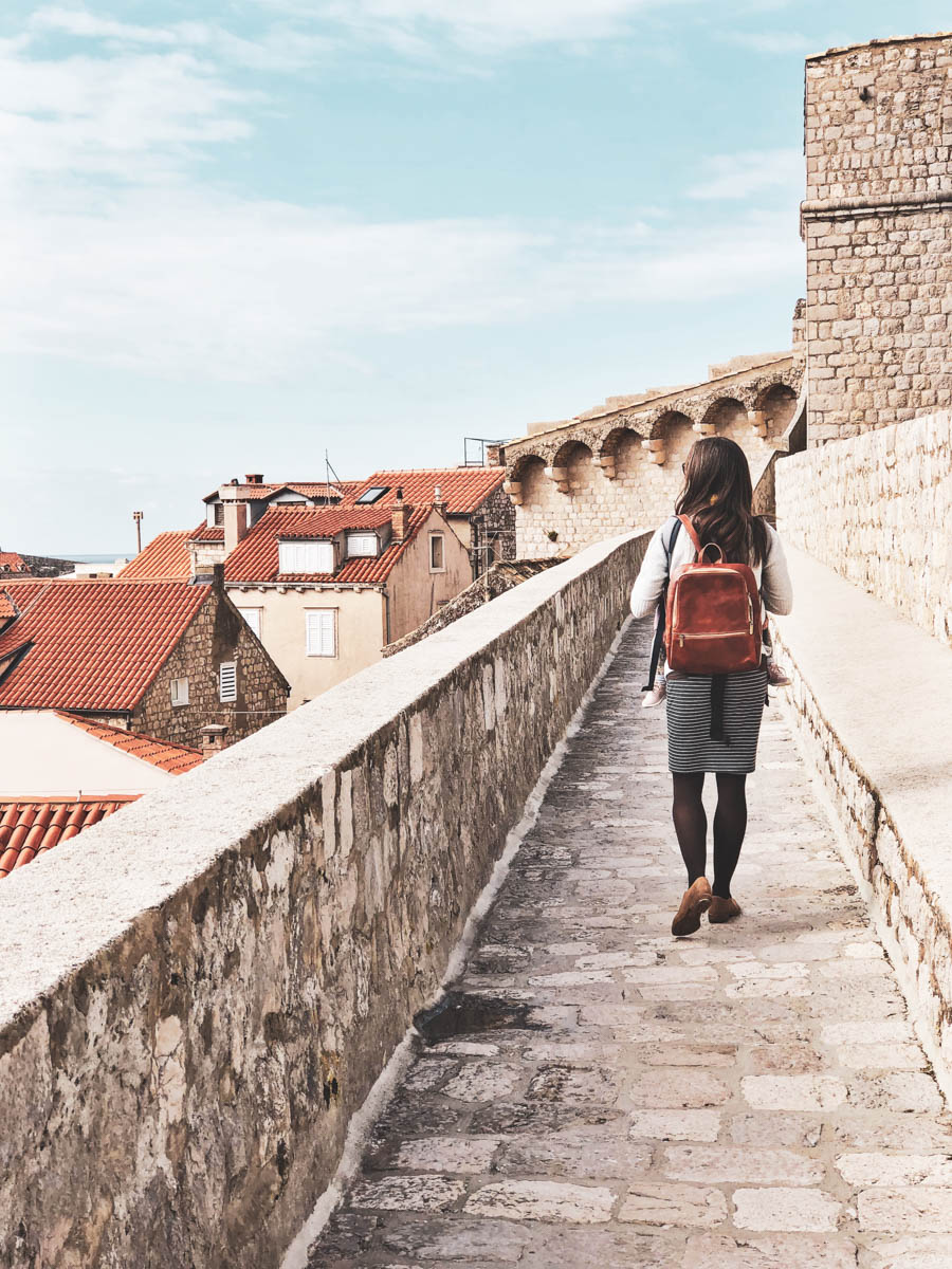 Walking the City Walls are a must if traveling as a family in Dubrovnik