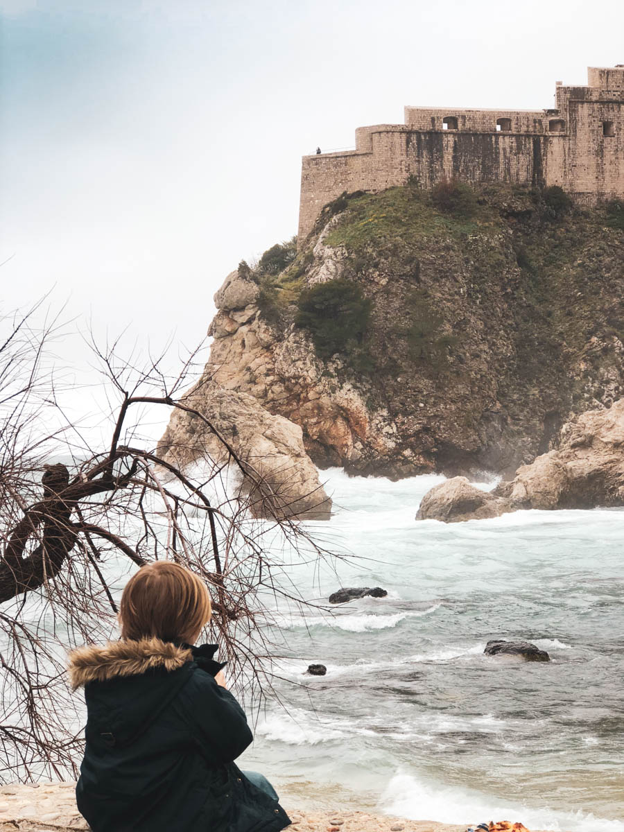 The Winter is a great travel to visit Dubrovnik Croatia