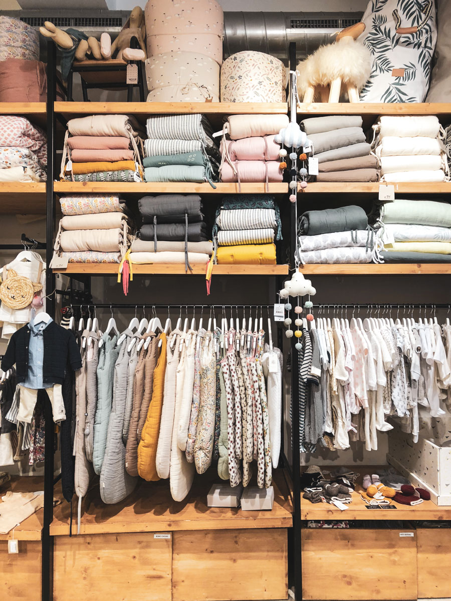 Here are some of the best best baby and kid clothing shops in Paris.