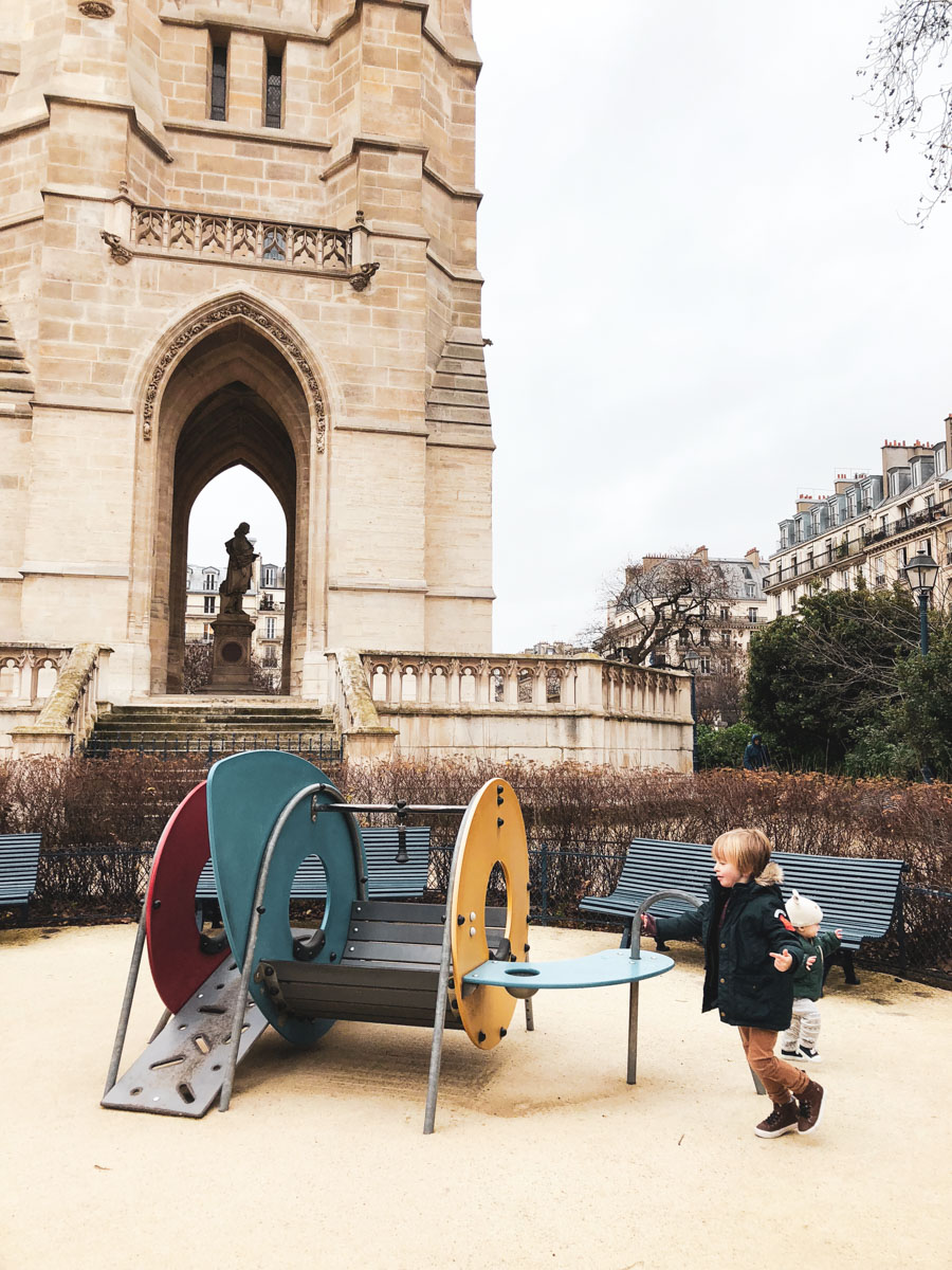 Here is a list of the best playgrounds in Paris for young kids