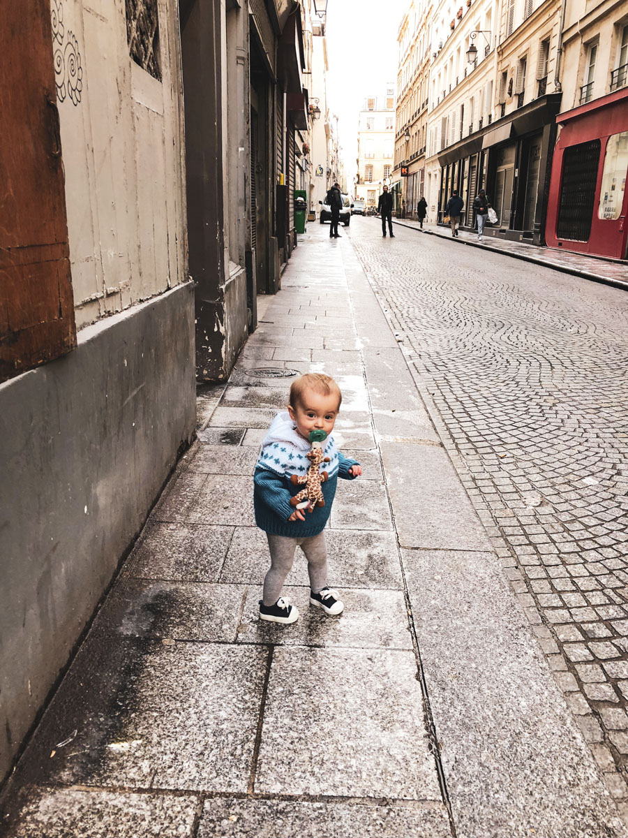 Where to eat, shop and play when traveling to Paris with a 1 year old.
