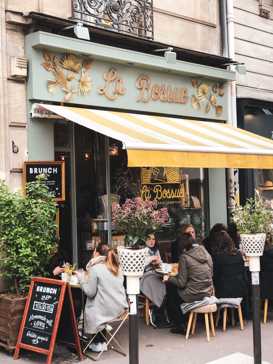 Here's a lovely spot for brunch in Paris.