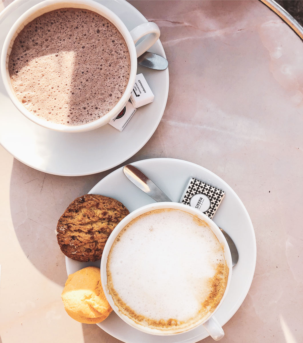 When in Paris you must hit up the best places for hot chocolate or chocolat chaud as they call it.