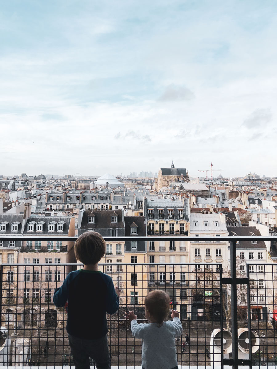 This is a great blog post for tips on traveling to Paris with young kids
