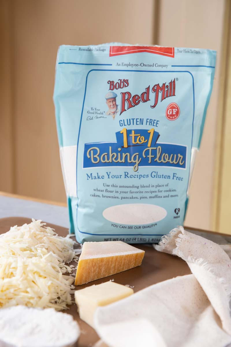 Gluten free flour is great to use in Potatoes au Gratin