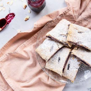 Everyone loves this recipe for Cherry Strudel from scratch!